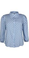 Zhenzi - Kuli prikket skjorte