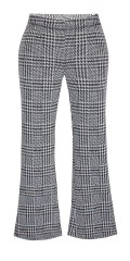 Zhenzi - Iwar small checks bootcut