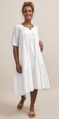 Aprico - Kleid in stickerei anglaise