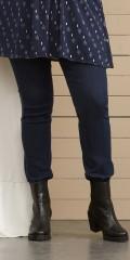 Zhenzi - Twist blau Denim Leggings