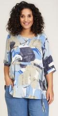 Studio Clothing - Tine blouse i grafisk print