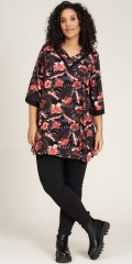 Studio Clothing - Laila blumengemustert tunic