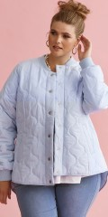 Zhenzi - Amme quilted short jacket