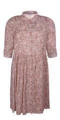 Zhenzi - Mossy blomstret kjole