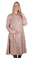 Zhenzi - Mossy flowery dress