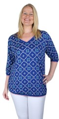 Choise - Blouse with retro print