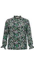 ONLY Carmakoma - Anemony blouse/blomstret skjorte