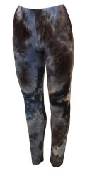 Cassiopeia - Suzan Leggings in Batik Look blau