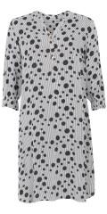 Choise - Smart Viskose Kleid mit Bomben