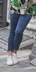 CISO - Lekre dongeri 7/8 jeans med glidelås på benene