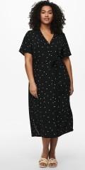 ONLY Carmakoma - Dot shirt dress