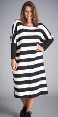 Pia oversize stribe dress