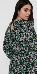 ONLY Carmakoma - Flowery long dress