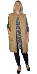 ONLY Carmakoma - Lang Quilted Weste