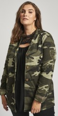 Adia Fashion - Fed camouflage jakke
