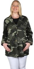 Adia Fashion - Fetstil kamouflage jacka
