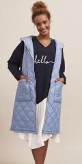 Aprico - Lækker blue waistcoat