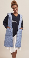 Aprico - Stylish blue waistcoat