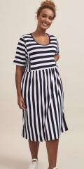 Aprico - . Louis striped dress