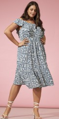 ONLY Carmakoma - Dress with print