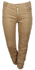 Cassiopeia - Karina twill jeans with curl effect