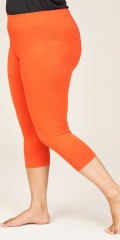 Sandgaard - Leggings 3/4 length with rubber band in whole the waist