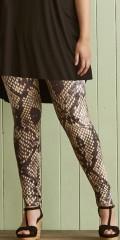 Zhenzi - Leggings med snake trykk