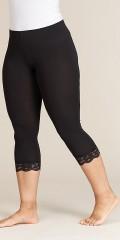 Sandgaard - Oslo 3/4 leggings with lace edge