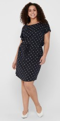 ONLY Carmakoma - Light dress with small dots