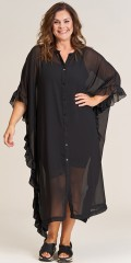 Gozzip - Lilly oversize shirt dress