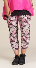 Studio Clothing - Irene leggings med blomster print