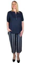 CISO - 7/8 striped pants