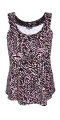 Zhenzi - Stylish summer top in animal print