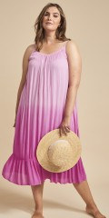 Adia Fashion - Summer dress in crepe viscose