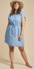 Adia Fashion - Lyocell denim dress