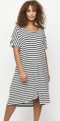 Aprico - Memphis striped dress