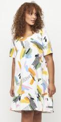 Aprico - Fresno tunika/kjole med multiprint