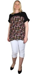 Adia Fashion - Blomstret blouse