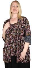 Adia Fashion - Kimono in blumendruck