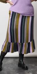 Adia Fashion - Heidi striped skirt