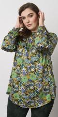 Adia Fashion - Blouse in retro print