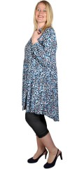 Cassiopeia - Nelliana printed tunika blå