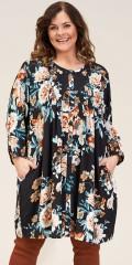 Gozzip - Johanne shirt tunika med blommor