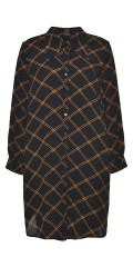 Gozzip - Hanna groß Shirt in Karos
