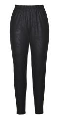 Gozzip - Nana coated leggings: gozzip black