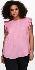 ONLY Carmakoma - Ruffled top with flounces