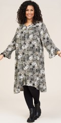 Studio Clothing - Jette dress with leafprint