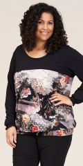 Studio Clothing - Melissa printet bluse