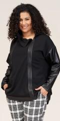 Studio Clothing - Janne jacka med imiterad läder