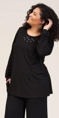 Studio Clothing - Carina blouse med ringe